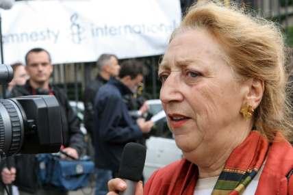 Mireille Boisson, militante pour Amnesty international depuis 42 ans