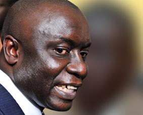 Le candidat Idrissa Seck, ancien Premier ministre de 2002 à 2004, a rejoint l'opposition. Il était arrivé en 2e position aux élections de 2007. DR