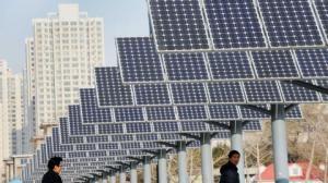 La subvention pour le solaire privé pourrait remettre en route toute l'industrie chinoise du solaire. DR