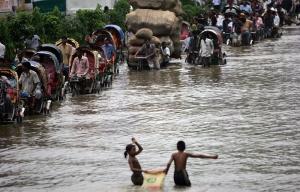 Le Bangladesh, le pays qui s'efface. DR