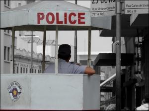 En 2007 à São Paulo la Police tuait plus d'une personne par jour. © Vanessa Moracchini