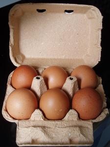 Le prix des oeufs a quadruplé depuis l'entrée en vigueur de la nouvelle réglementation européenne en matière d'élevage des poules en batterie. DR