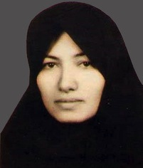 Sakineh Ashtiani, in jail since 2006 / en prison depuis 2006.