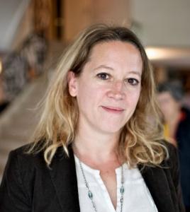 Eléonore Morel, directrice générale du Centre Primo Levi. Crédits photo Laurence Guenoun