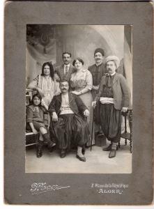 Une famille juive en Algérie, les Zaoui, en 1914, Collection Benjamin Stora.