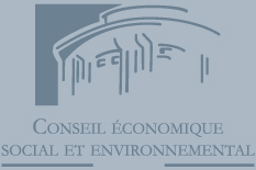Logo du Comité économique, social et environnemental (CESE).