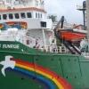 L'Arctic Sunrise, bateau des militants de Greenpeace