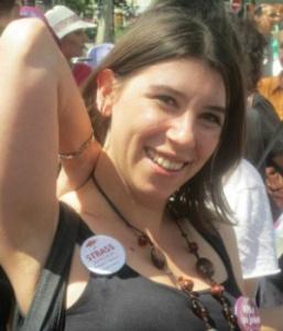 Morgane Merteuil, secrétaire générale du Strass, le Syndicat des travailleurSEs sexuelLEs.