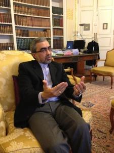 Ali Ahani, ambassadeure de lRépublique islamique d'Iran