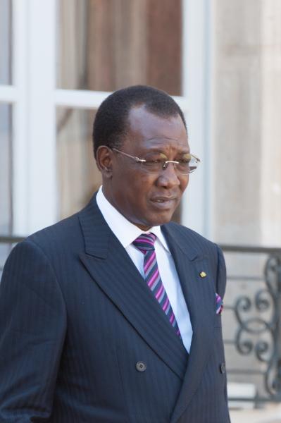 Idriss Déby, le président du Tchad  © Laure Vandeninde / Allpix Press