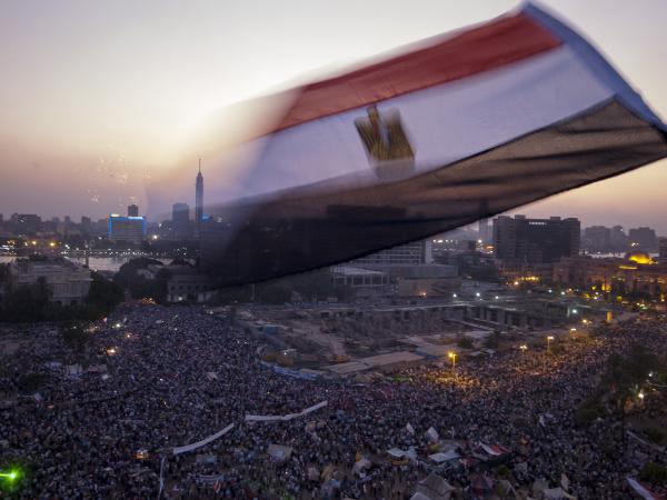 La place Tahrir au Caire   (Xinhua/Li Muzi)  © Xinhua / Allpix Press