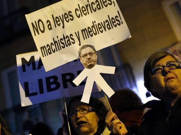 Les espagnols sont dans une très grande majorité hostiles à ce projet de loi
