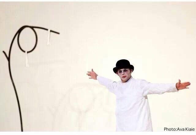 L'acteur Peyman Moadi (Une séparation, A propos d'Elly) dans le rôle de Vladimir