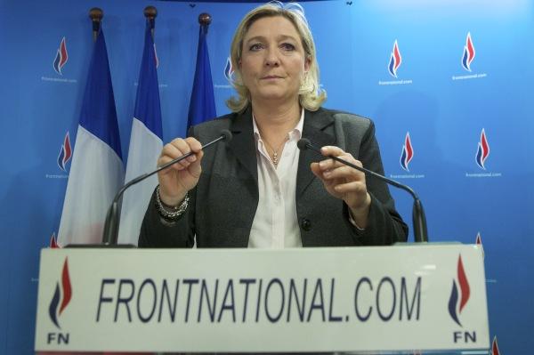 Marine Le Pen a réussi son pari : arriver en tête aux élections européennes © Gael Colliguet / Allpix Press