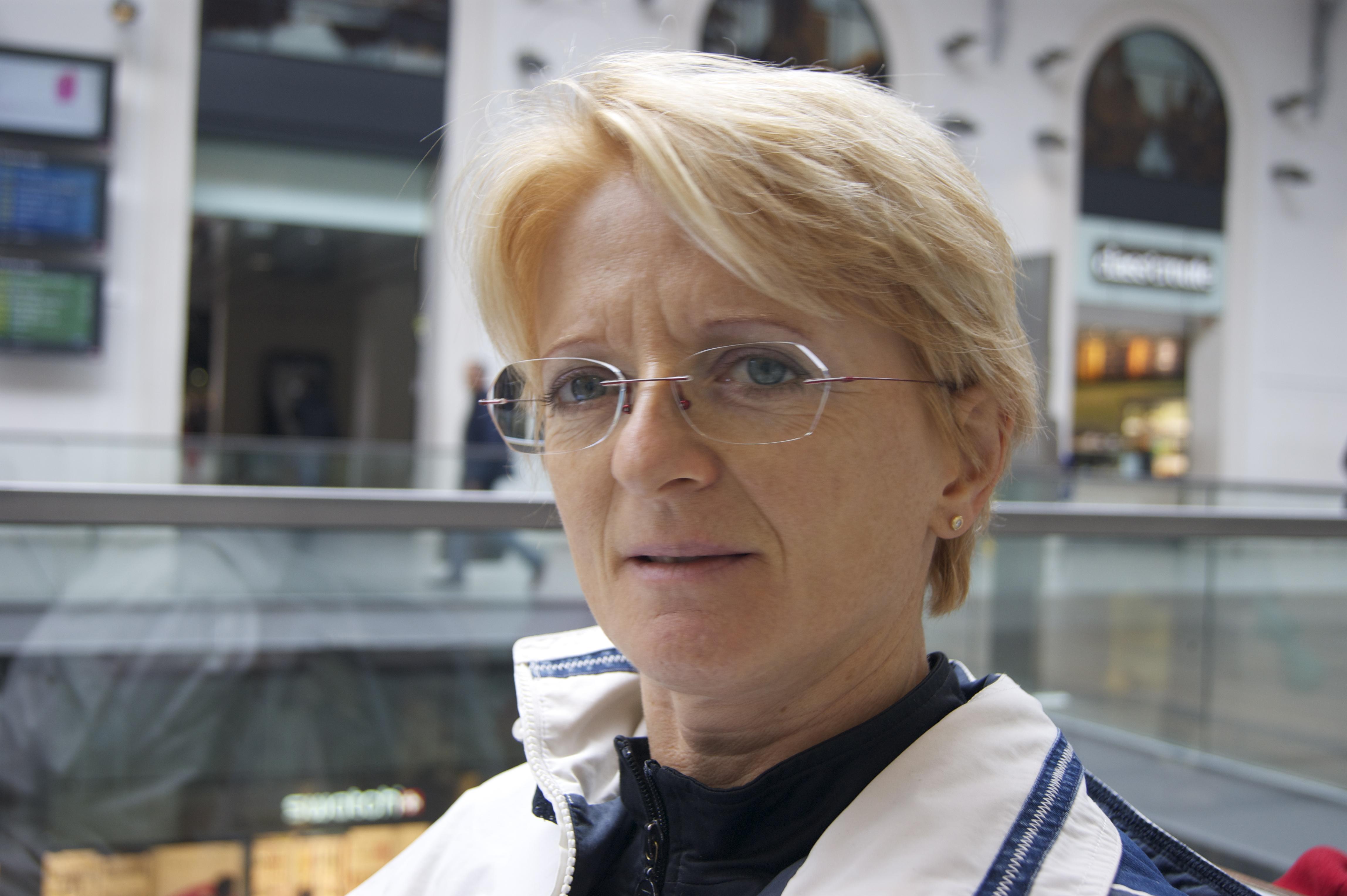 Irmgard, 51ans, ingénieure belge