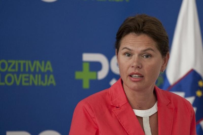La chef du gouvernement, Alenka Bratušek, qui vient de démissionner après avoir été à peine un an au pouvoir
