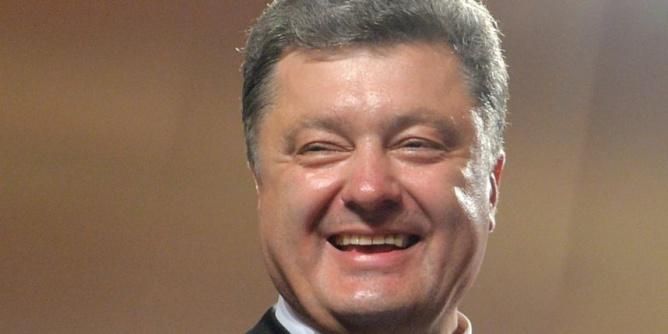 Le nouveau président ukrainien, Petro Porochenko
