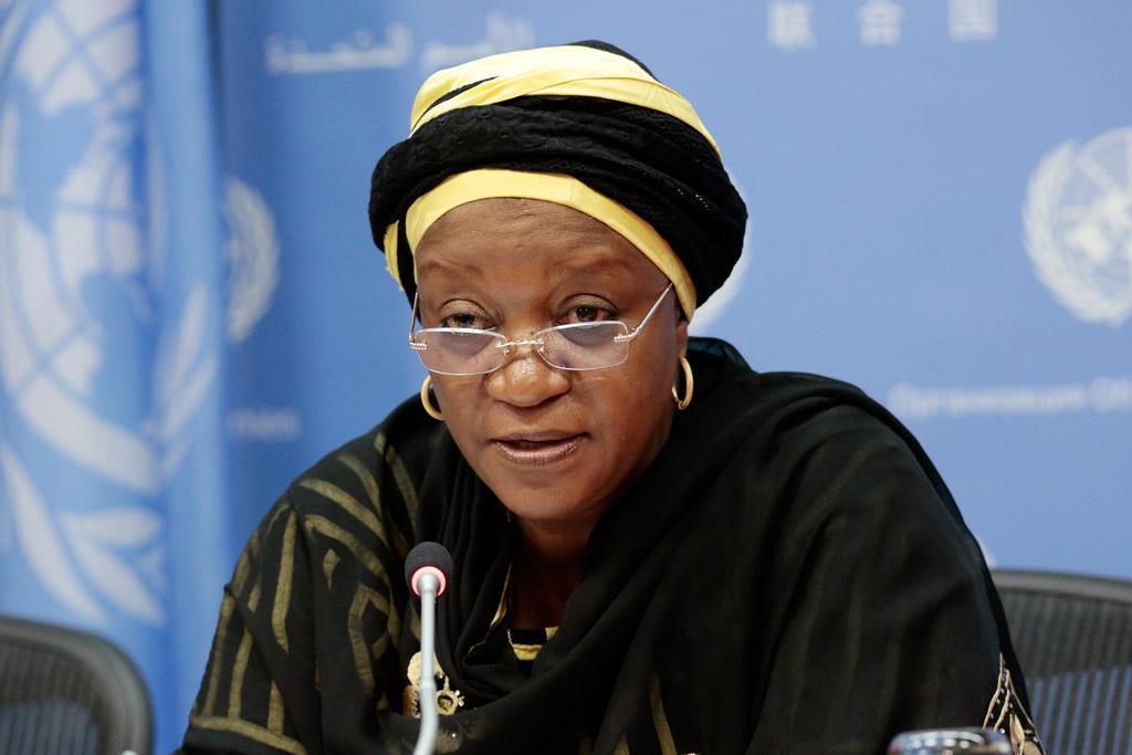 UN Special Representative of the Secretary-General for Sexual Violence in Conflict, Ms Zainab Hawa Bangura © un.org