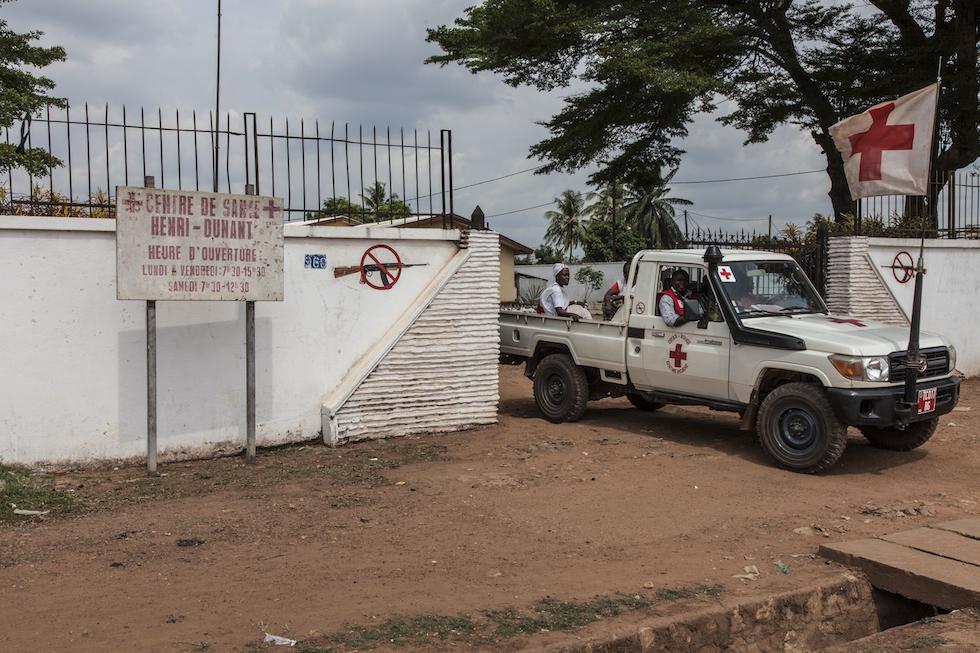 CENTRAFRIQUE - BANGUI - KM5 - CAMP DES DEPLACES M'POKO -avril 2014