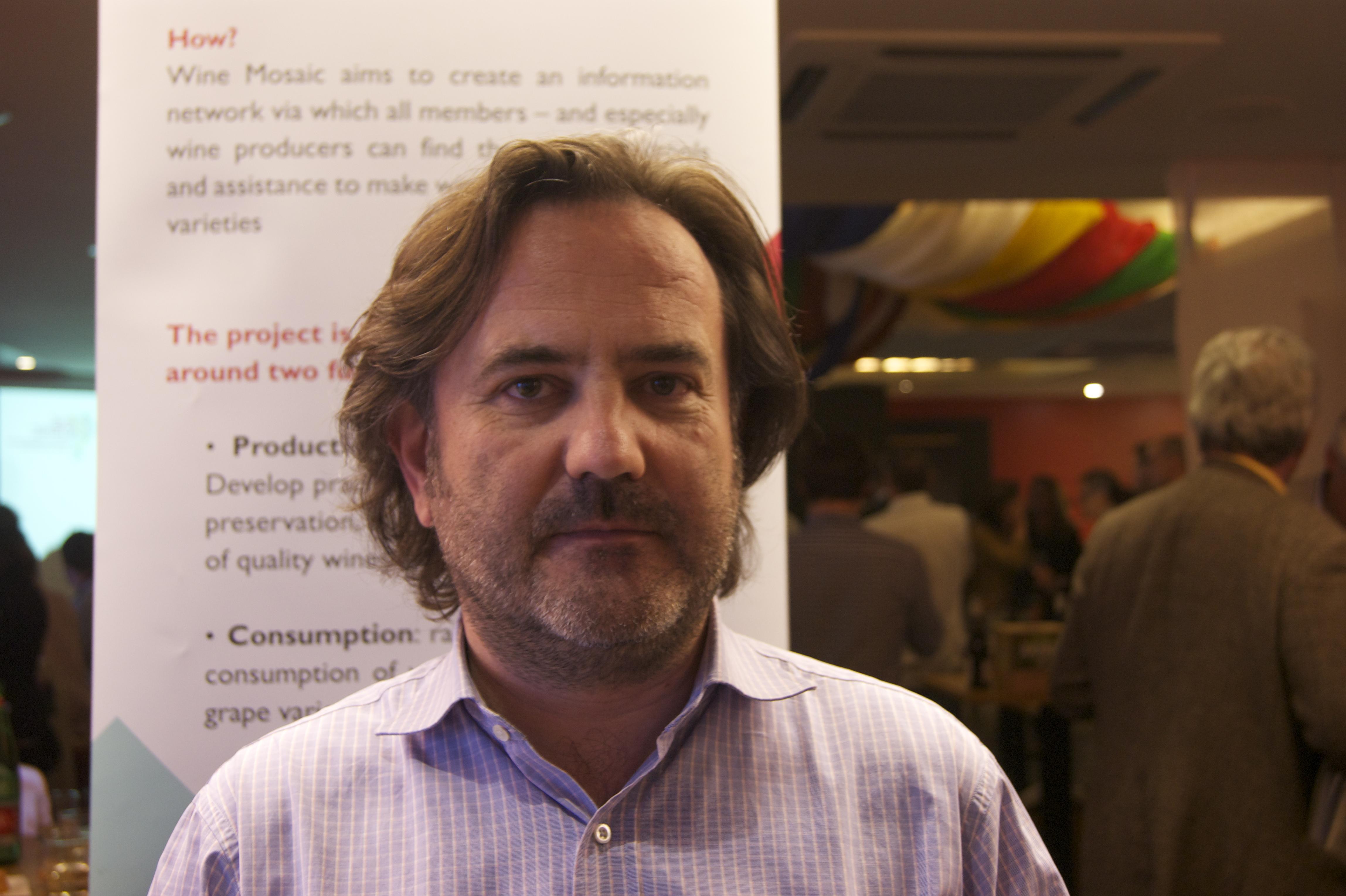 Jean-Luc Etievent - Président de l'association Wine Mosaic