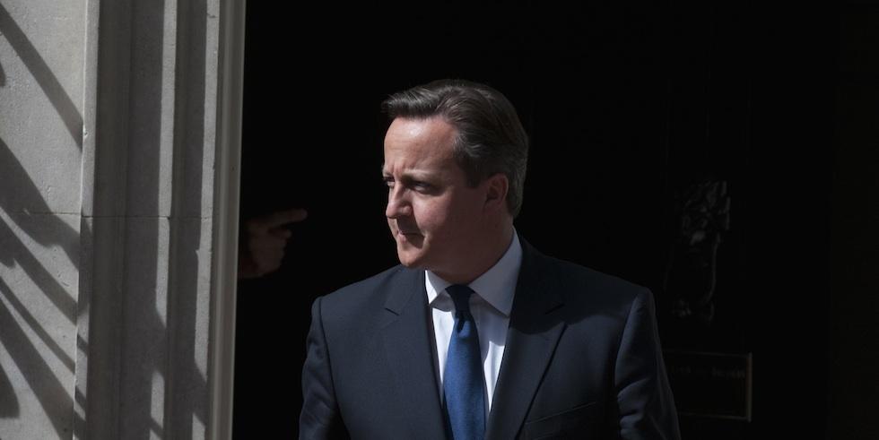 David Cameron, le Premier ministre britannique au 10 Downing Street - Juin 2013 © Daniel Deme / Allpix Press