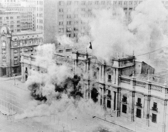 La Moneda, le 11 septembre 1973.