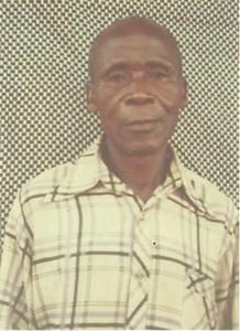 Jonas Kayoungu - photo de passeport. © 2014 HRW