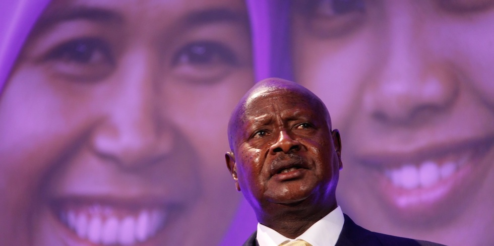 Président ougandais, Yoweri Museveni. (@Wikimedia Commons)