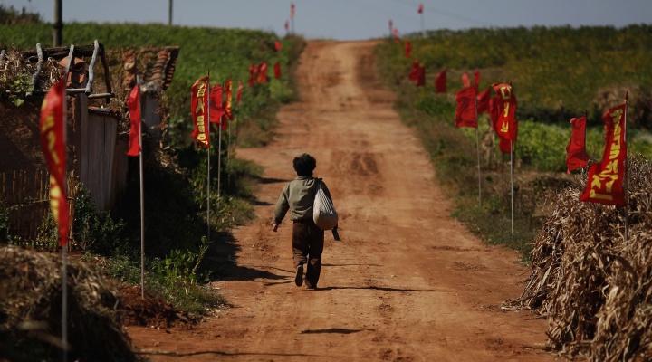 Village de la province d'Hwanghae du Sud, le 30 septembre 2011 © Damir Sagolj
