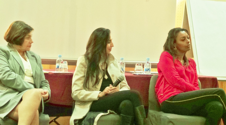 Loula Zaklama, Zineb Elmazouni, Samira Ibrahim - 2ème Forum Mondial des Droits de l'Homme - Marrakech 2014