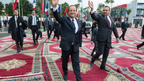 Hollande-MohammedVI