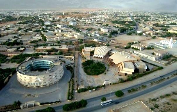 Vue de Nouakchott