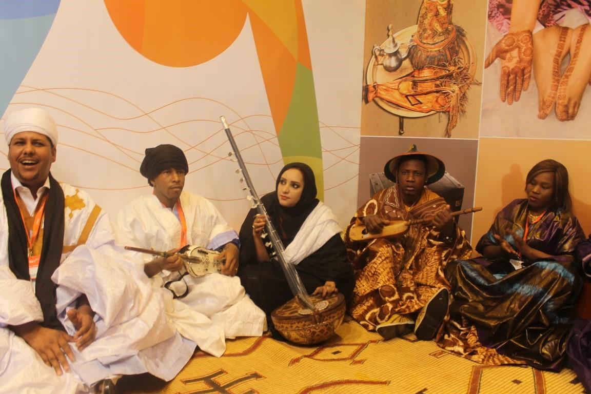 Groupe de musiciens bidân et tukolor de Mauritanie, Festival touristique de Madrid