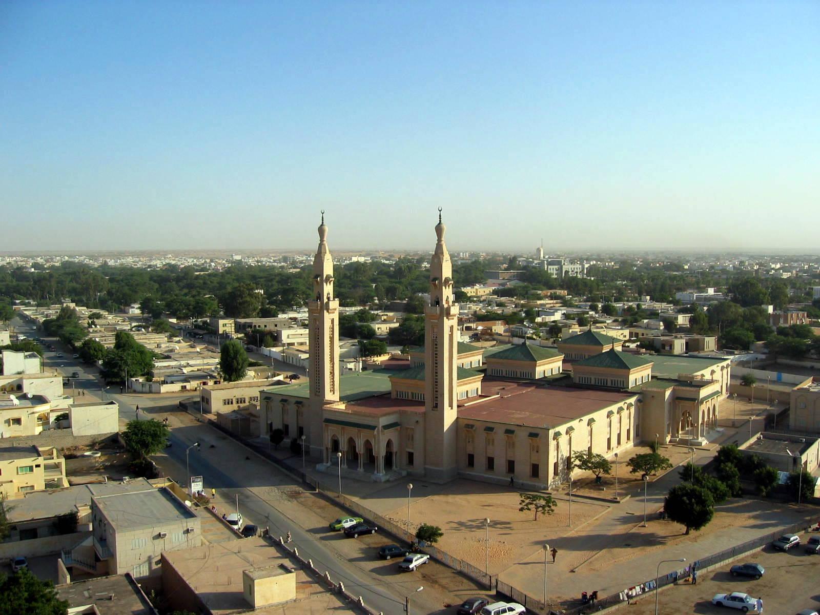 La mosquée saoudienne de Nouakchott
