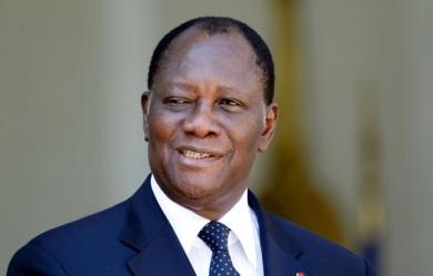 Le Président ivoirien Alassane Ouattara, novembre 2012, Reuters
