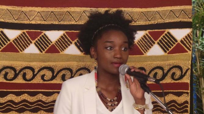 Mlle Diallo, Présidente de l'ASPA