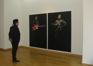 """Oeuvres de Vuk Vidor dans le cadre de l'exposition """"En Route pour l'Europe. Le retour de la belle tirée"""""""