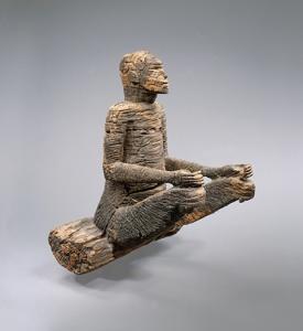 Mbembe peoples; Ewayon River region, Cross River Province, Nigeria. Wood (Afzelia); H. 25 3/8 in. (64.5 cm). Musée du quai Branly, Paris
