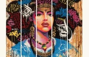 "Crédits : ""Aisha"" par Noe Two / Affiche by aKa"