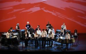 Les musiciens de Calypsociation lors du concert donné au théâtre du Châtelet le 31 mai dernier.  © Théâtre du Châtelet - Marie-Noëlle Robert
