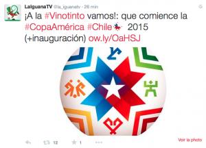 Lancement de la Copa América 2015 au Chili