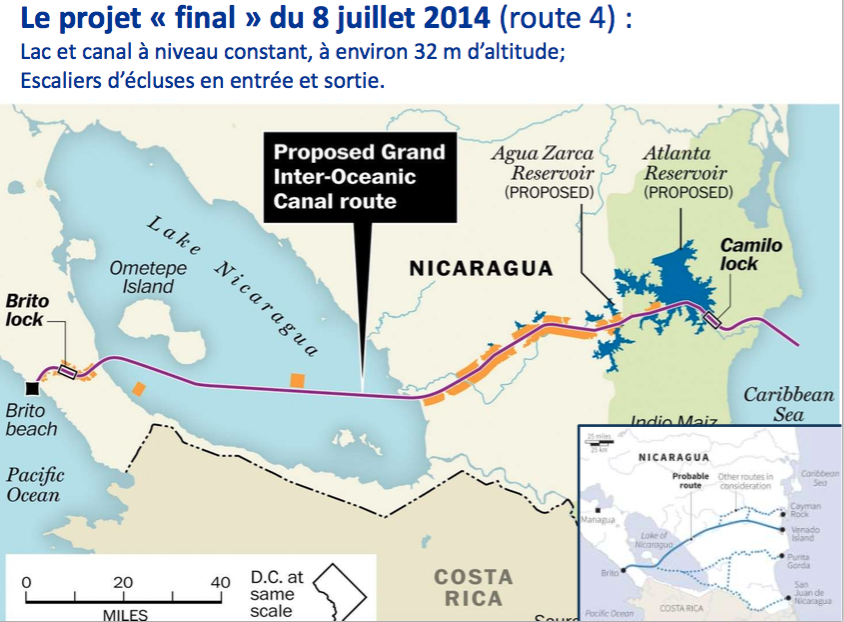 Projet final du canal au 8 juillet 2014 : Washington Post http://www.washingtonpost.com/world/the_americas/can-a-chinese-billionaire-build-a-canal-across-nicaragua/2015/02/03/e9cf3482-9aa5-11e4-86a3-1b56f64925f6_story.html