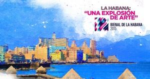 Affiche Biennale d'art de Cuba 2015
