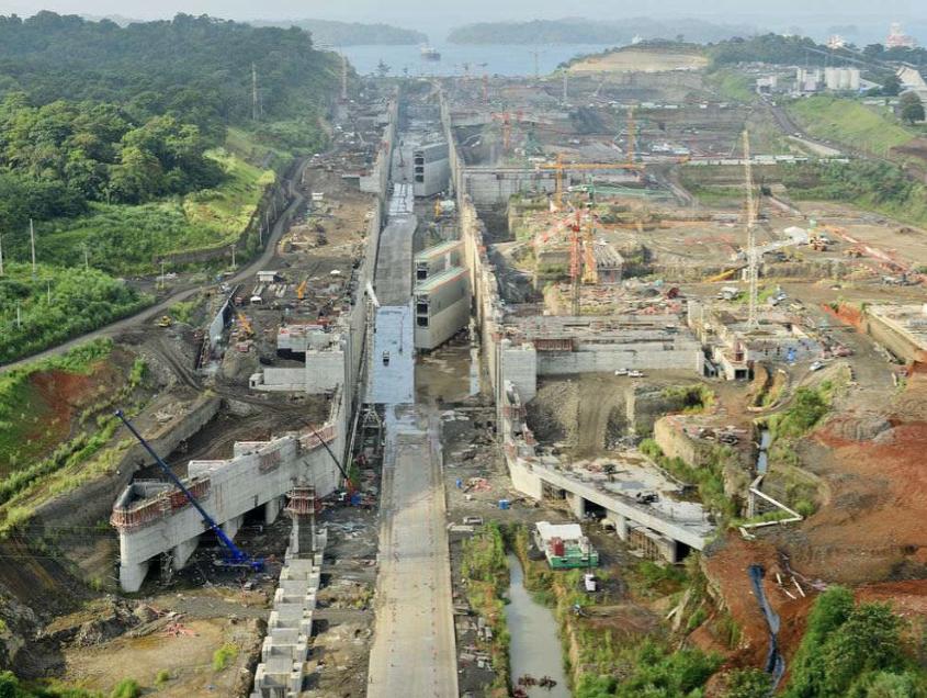 Les travaux d'agrandissement des écluses de Panama : ACP (Autorité du Canal de Panama)