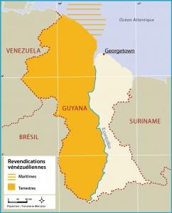 Carte, source: Atlas Caraïbe