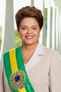 Dilma Rousseff dans le Palacio de Alvorada Agência Brasil