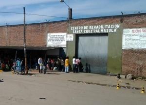 La prison de Palmasola, dans le département de Santa Cruz, en Bolivie.