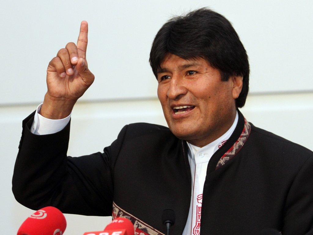Evo Morales http://www.gentside.com