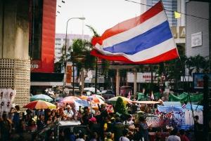Manifestation en Thaïlande - Crédit : hurtingbombz / Flickr CC