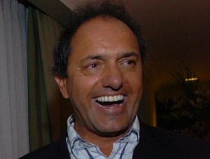 Daniel Scioli crédit: Présidence argentine / Wikimedia Commons